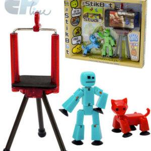 EP line Stikbot akční figurka plastová + zvířátko set se stativem free app zdarma 4 druhy