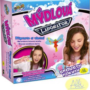 ALBI Laboratoř mýdlová kreativní sada Výroba mýdel