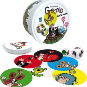 Hra GRABOLO Junior Krtek (Krteček) voděodolné karty H2O *SPOLEČENSKÉ HRY*