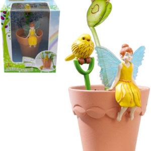 My Fair Garden mini květináček Joy set 2 figurky se semínky a doplňky plast