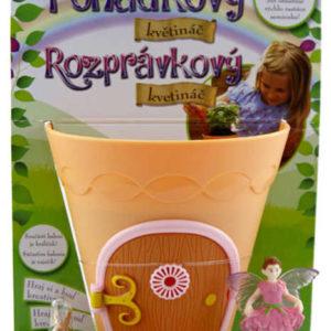 My Fair Garden pohádkový květináč set 2 figurky se semínky a miskou plast
