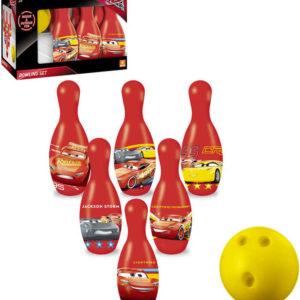 SEDCO Kuželky dětské 20cm Mondo Cars 3 (Auta) na bowling set 6ks + koule plast