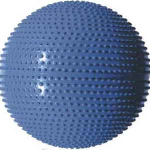 SEDCO Míč gymnastický masážní 65cm modrý na kondiční dvičení fitness