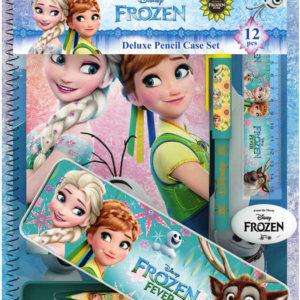 JIRI MODELS Sada psacích potřeb Frozen (Ledové Království) v plechovém pouzdře