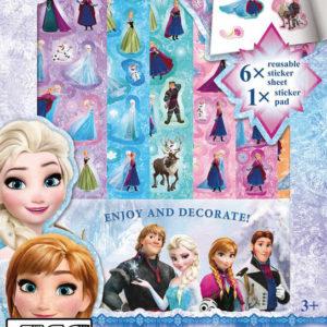 JIRI MODELS Samolepky na zeď 2D Frozen (Ledové Království)