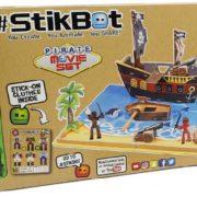 EP line Stikbot filmařská sada pirátská loď / farma 2 druhy animační studio s doplňky