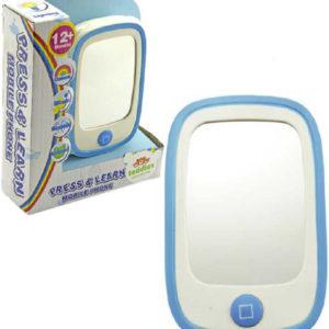 Baby telefon zrcátko na baterie Světlo Zvuk plast pro miminko