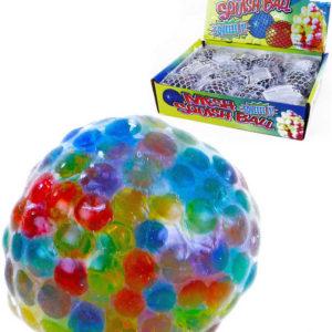 Míček antistresový duhový bublinový 6cm balonek na mačkání