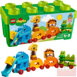 LEGO DUPLO Můj první box se zvířátky STAVEBNICE 10863