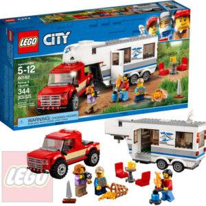 LEGO CITY Pick-up a karavan STAVEBNICE 60182