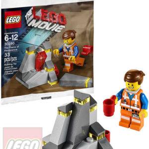 LEGO MOVIE Kousek odporu The Piece Of Resistance 30280 STAVEBNICE