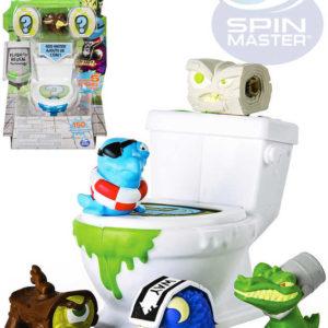 SPIN MASTER Flush Force set záchod + sběratelská figurka 5ks různé druhy
