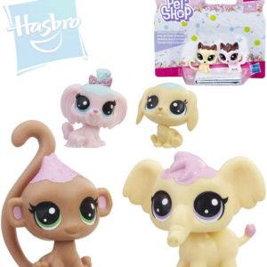 HASBRO LPS Littlest Pet Shop zvířátko Frosting Frenzy set 2ks 4 druhy