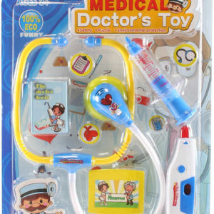Souprava doktorská dětské lékařské potřeby na baterie plast Světlo Zvuk