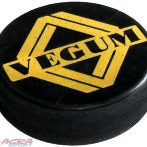 ACRA Puk hokejový malý s ražbou potisk černý