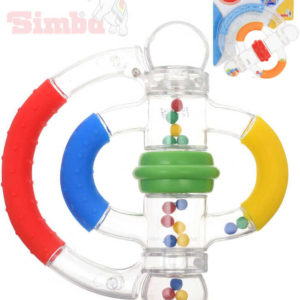 SIMBA Baby chrastítko otáčecí 15cm pro miminko 2 barvy