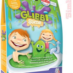 SIMBA Sliz do vany zábavný zelený v prášku 150g Glibbi