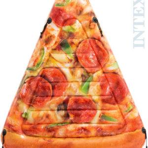 INTEX Lehátko pizza 175x145cm nafukovací dětská matrace na vodu
