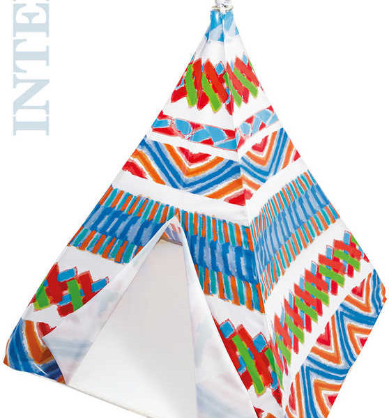 INTEX Stan hrací dětský indiánský 122x157cm teepee plast