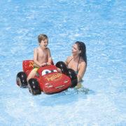 INTEX Auto nafukovací s držadlem Cars (Auta) dětské plavidlo do vody 57516