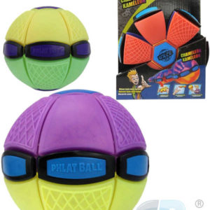 EP line Phlat Ball junior disk 8,5cm měnící se v míč mění barvu 2v1 plast