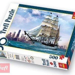 TREFL Puzzle 500 Plachetnice u CHICAGOU 137120