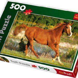 TREFL Puzzle 500 dílků Krása galopu