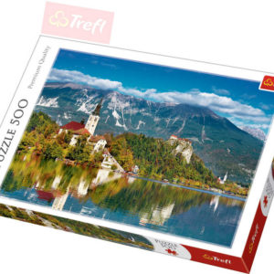 TREFL PUZZLE Foto Slovinsko Bled 500 dílků 48x34cm 137259