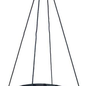 Houpačka dětská závěsný kruh 100cm černá