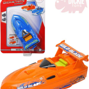DICKIE Člun plastový Sea Rider 15cm na natažení 2 barvy