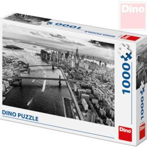 DINO Puzzle skládačka pohled na Manhattan New York 1000 dílků 66x47cm