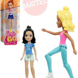 MATTEL BRB Babrbie On The Go mini panenka kloubová 8cm různé druhy