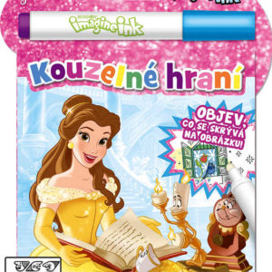 JIRI MODELS Kouzelné hraní Disney Princezny aktivity s kouzelnou fixou