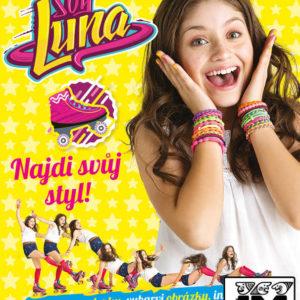JIRI MODELS Najdi svůj styl Soy Luna kreativní set se samolepkami