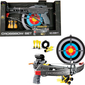 Lukostřelecký set dětský luk s terčem a šipkami 5ks v krabici