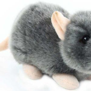 PLYŠ Myš šedá 16cm PLYŠOVÉ HRAČKY