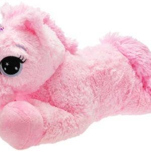 PLYŠ Jednorožec růžový 60cm ležící *PLYŠOVÉ HRAČKY*
