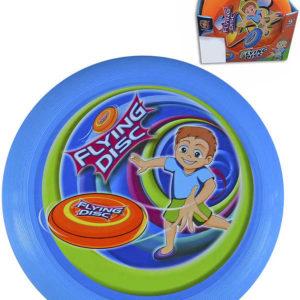 Talíř létající disk 23cm plast 3 barvy