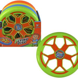 Disk létající talíř ufo 23cm plast 4 barvy