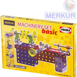 MERKUR Machinery set basic obráběcí stroje KOVOVÁ STAVEBNICE