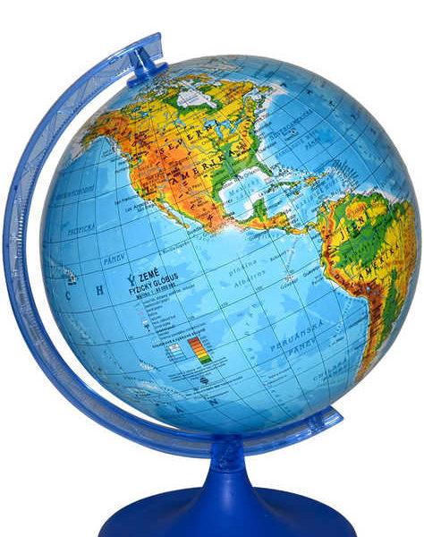 Globus Zemepisny Plastovy Mapa Sveta 16cm Maly V Sacku Detska