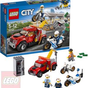 LEGO CITY Trable odtahového vozu 60137 STAVEBNICE