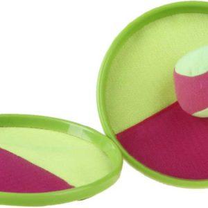 YG Sport Hra Catch ball set 2 talíře 19cm s pěnovým soft míčkem na suchý zip
