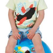 JOHN Míč skákací Tlapková Patrola 50cm modré dětské hopsadlo s držadly