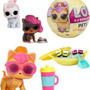 L.O.L. Surprise Confetti Pop Zvířátko s doplňky v kouli zábavný set 7 překvapení
