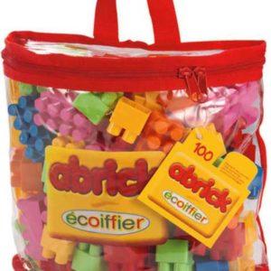 ECOIFFIER Kostky Abrick V plastové tašce 100 ks PLAST