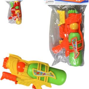 Pistole dětská vodní 26cm se zásobníkem na vodu 3 barvy v sáčku