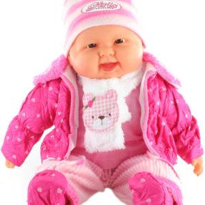 Panenka miminko velké 52cm holčička měkké tělíčko v oblečku
