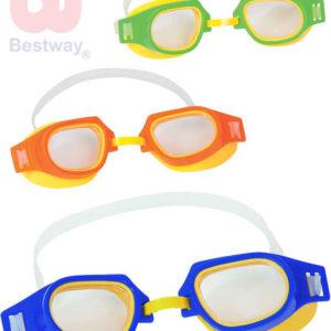BESTWAY Brýle dětské plavecké Sport-Pro Champion do vody 3 barvy