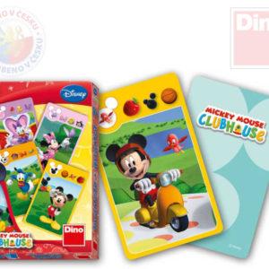 DINO Hra karty Kvarteto Mickeyho Klubík v krabičce *SPOLEČENSKÉ HRY*